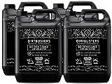 Dirtbusters Bio limpiador de horno y Dip tanque solución Concentrate 4x 5litros como utilizar por empresas de limpieza profesional fórmula no cáustico seguro pero potente Biodegradable, respetuoso con el medio ambiente