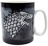 Game of Thrones 460 ml Large Porcelain Stark Mug