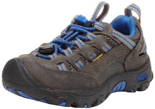 Keen - Scarpe sportive Unisex per bambini gargoyle/strong blue