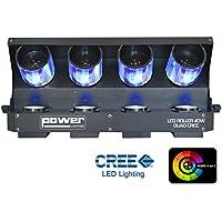 Iluminación Energía Roller 40 vatios LED, 4-in - 1, negro