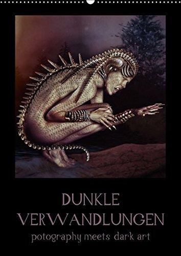 (Dunkle Verwandlungen - photography meets dark art (Wandkalender 2017 DIN A2 hoch): Digital nachbearbeitete Bilder einer großartigen Fotografin von ... (Monatskalender, 14 Seiten ) (CALVENDO Kunst))