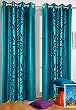 Homefab India Set of 2 Kolaveri Aqua Blu...
