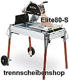 ELITE-80-S_Robuste Steinsäge, Steintrennmaschine, Schneidlänge 800 mm, Fliesenschneidmaschine, Fliesenschneider, Nassschneider. Fliesen, Kacheln, Steinplatten, Platten etc.
