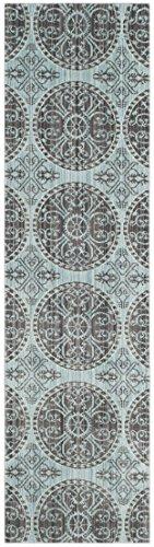 Safavieh Taryn gewebter Teppich, VAL214H, Braun / Alpine, 68 X 243  cm