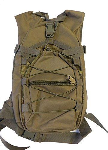 Rucksack Militärische Tasche 25L Trekking Camping Sport Reise Wandern Fahrrad mimeitco sabbia grün