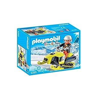 Playmobil Family Fun Moto de Nieve, 9285