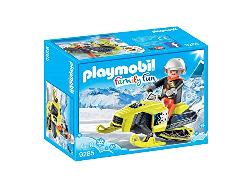 Playmobil Family Fun Moto de Nieve, 9285