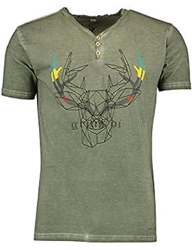 Spieth & Wensky T-Shirt Denno grau