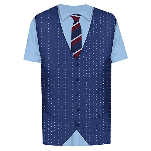 England Manager Gaffer Waistcoat and Tie It's Coming Home Lining - Gareth Southgate T-Shirt