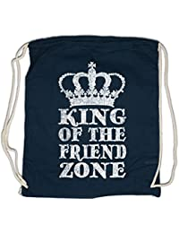 Urban Backwoods King of The Friend Zone Bolsa de Cuerdas con Cordón Gimnasio