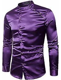 VEMOW Herbst Frühling Winter Herrenhemd Slim Fit Langarm Casual  Tagesgeschäft Business Formale Taste Shirts Formale… 6c7641c4f4