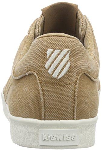 K-Swiss BELMONT T, Sneakers basses homme Beige - Beige (TOBACCO/MARSHMALLOW 295)