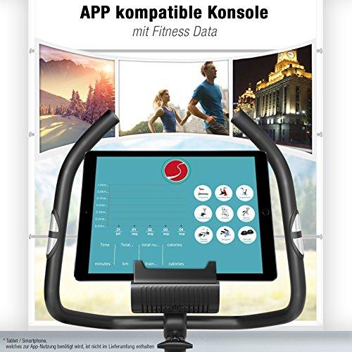 Sportstech ES400 Heimtrainer – APP Steuerung - 3