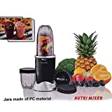 INFINITY ELECTRIC Novella Multi-Functional Blender NUTRI Mixer (Black,2 Jars)