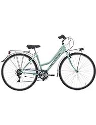 28pulgadas bicicleta de trekking mujer 6velocidades Cinzia Trend, verde