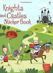 Knights and Castles Sticker Book (Usborne Sticker Books) by Leonie Pratt (2009-07-31)