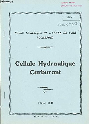 CELLULE HYDRAULIQUE CARBURANT .