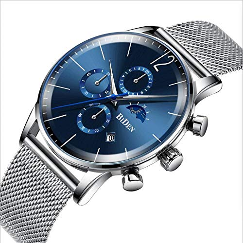 SUNHAO Männeruhr Minimalist Quartz Uhr Slim Simple Elegant Business Fashion Men \' s Watch Waterproof Timing Date VatertagIft