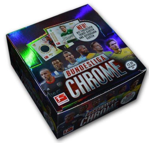 Preisvergleich Produktbild Topps TO00464D - Bundesliga Sammelkarten Chrome 2013/2014, 36 Booster je 6 Karten