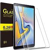 IVSO Samsung Galaxy Tab A 10.5 SM-T590/T595 Schutzfolie, 9H Härtegrad, Schutzfolie Displayfolie für Samsung Galaxy Tab A SM-T590/SM-T595 10.5 Zoll 2018 Tablet PC, (2 Packungen x)
