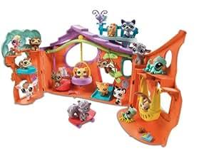 Hasbro - 90807 - Littlest Petshop - Poupée - Le Club de détente + écureuil et singe