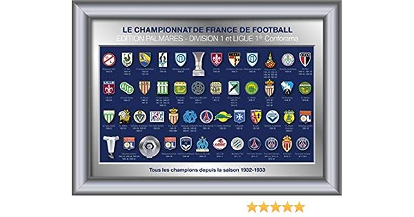 Collection de pins embl/èmes des /équipes de la Conforama Ligue 1 /& Dominos Ligue 2 Saison 2017//18 LFP