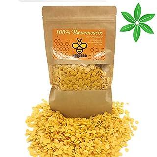 HAPPBEE 100% Pure Cire d'abeille Naturelle de qualité cosmétique de qualité supérieure 200 g