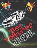 Voiture Grand livre de coloriage pour les enfants. Plus de 50 modèles de voitures: Jeep, Porsche, Lamborghini, Alfa Romeo et d'autres. Dessins ... âges. Livres de coloriage uniques pour hommes
