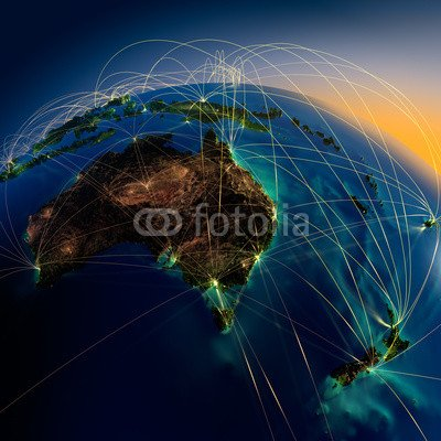 poster-bild-110-x-110-cm-main-air-routes-in-australia-and-new-zealand-bild-auf-poster