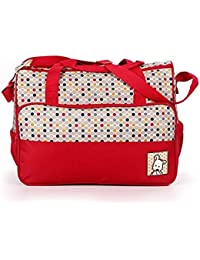 GTC Baby Bucket 5pcs/set Baby Diaper Bag Nappy Mummy Bag Print Maternity Handbag Changing Baby Messenger Bag -...
