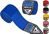 RDX MMA Bandes Boxe Élastiqué Mains Intérieur Gants Mitaine Arts Martiaux 4,5 Mètres Bandage Poignet Entrainement Muay Thai Hand Wraps