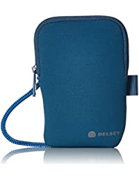 Delsey Blue Neck Pouch (Travel Necessities)