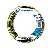 Electraline 13171Fahrzeugleitung FS17, Abschnitt 1x 2.5mm², Gelb/Grün, 10m
