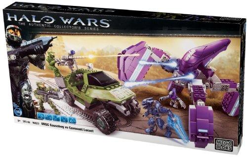Mega Bloks 96823U - Halo Wars UNSC Gausshog VS Covenant Locust