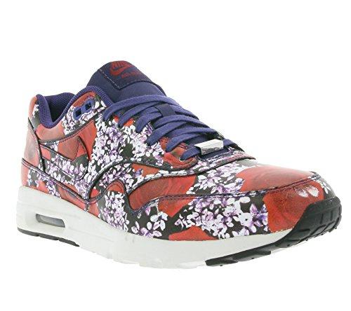 Nike Air Max 1 Ultra LOTC QS Damen Sneakers (Box hat keine Deckel!) LONDON FLORAL-INK/INK-SUMMIT WHITE-TEAM RED