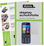 dipos I 6X Schutzfolie matt passend für bea-fon SL820 Folie Displayschutzfolie