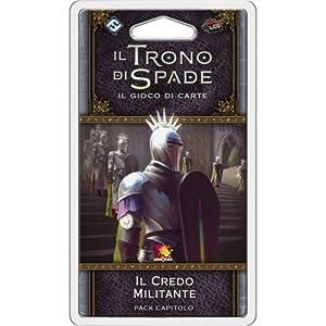 Asmodee Italia-Juego de Tronos LCG 2nd Ed. expansión El Creo Militante Juego de Mesa, Color, 9233