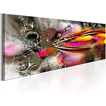murando Cuadro en Lienzo 135x45 cm - 3 tres colores a elegir - Impresion en calidad fotografica - Cuadro en lienzo - 1 Partes - abstracto a-A-0232-b-b 135x45 cm