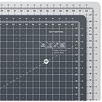 ARTEZA Base de corte autorreparable para cuchilla circular | Alfombrilla de doble cara para costura | Plancha de corte para medir en centímetros | Tamaño A3 45 x 30 cm (3 mm de grosor)