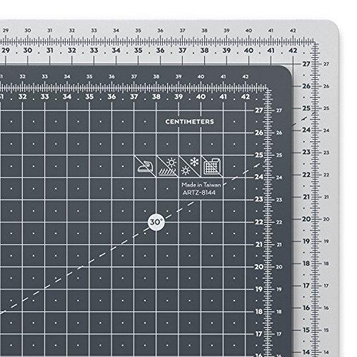 Arteza Schneidematte | DIN A3 Größe 45 x 30 cm, 3 mm Dick | Selbstheilende Schneideunterlage | Doppelseitig für Rollschneider | Ideal zum Nähen, Quilten und Basteln