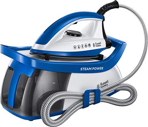 Russell Hobbs 24430-56/RH Steam Power Generator - Centro de planchado, 2600 W, 1.3 l, suela de cerámica, color azul