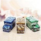Creative kruzroyal camuflaje de coches juguetes del bebé bolsas taburetes