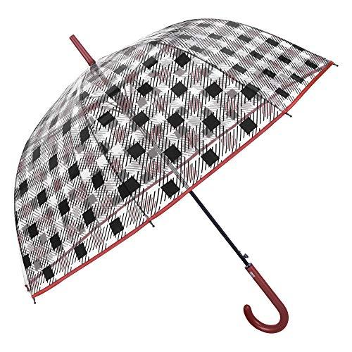 Paraguas Cupula Transparente Mujer Estampado