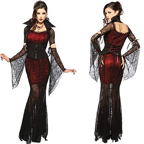 Simmia Halloween Kostüm,Halloween Vampir Hexen Kostüm Teufel Kostüm -