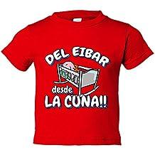 Camiseta niño del Eibar desde la cuna fútbol