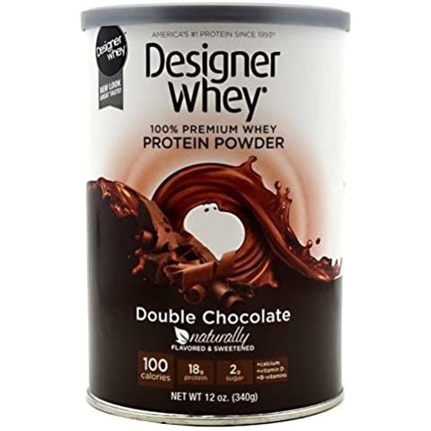 Next Proteins Designer Whey, Natural Double Chocolate, 12.7 Oz by Designer (12,7 Ounce Chocolate)