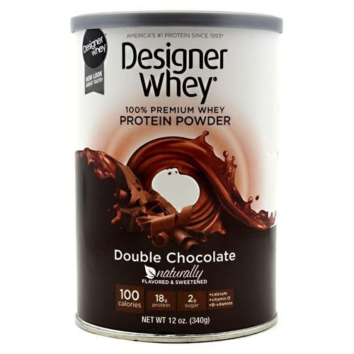 Next Proteins - Designer Whey, Natural, Double Chocolate 12.7 Oz ( Multi-Pack) by DESIGNER (12,7 Ounce Chocolate)