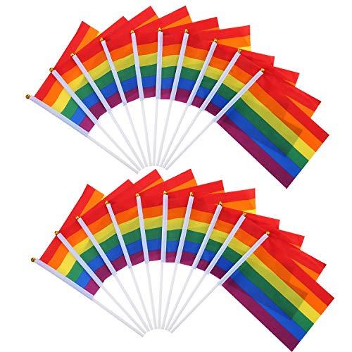 sexuell Stolz Regenbogen Fahne Lesben Frieden LGBT Regenbogen Fahne Banner Für Stolz Festival Karneval ()