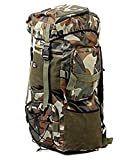 #5: Travelling Army/Warrior Rucksack ,Water Proof Traking Military Backpack/Tourist Bag 75ltr