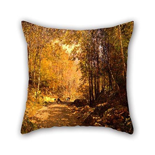 uloveme-oil-painting-emil-jakob-schindler-forest-lane-near-scharfling-pillowcover-20-x-20-inches-50-